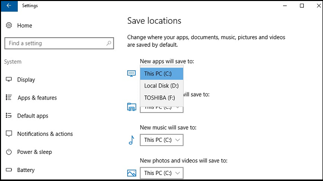 Easy Tips to Change the Default Save Location in Windows 10